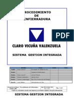 4 Procedimiento de Enfierradura PR-GO-04-7143