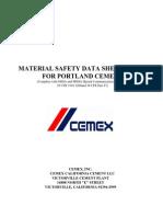 Msds - Cemex Portland