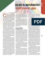 Los medios y la aprobación social del matrimonio gay