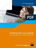 QPS Laptop Printing Guide (QUT)