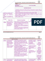 Planificación Clase a Clase Unidad III