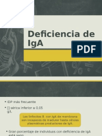 Deficiencia de IgA