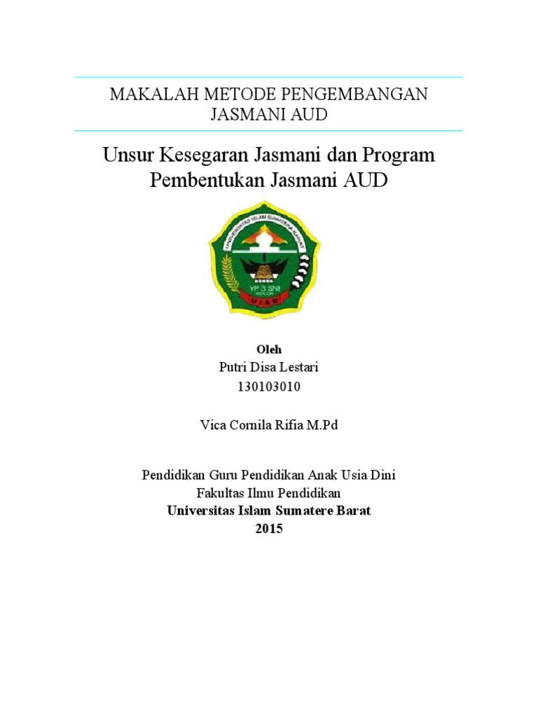 1-Unsur Kesegaran Jasmani Dan Program Pembentukan Jasmani