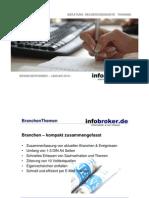infobroker.de BranchenThemen Januar 2010