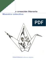 MUESTRA COLECTIVA de los espacios de creación literaria Cultura UCA