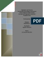Proyecto de Estadistica descriptiva, resistencia de cilindros de cemento