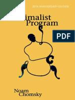 1995 (2015) - Chomsky, The Minimalist Program (Livro)