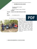 Informe Trabajo de Quechua