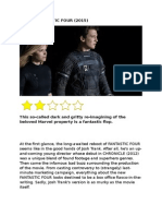 Review Fantastic Four