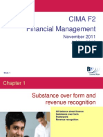 CIMA F2 Financial Management Quick Review Slides