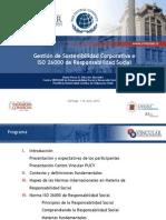 Taller Pacto Global Gestion de Sostenibilidad Corporativa e ISO 26000 de RS (1)