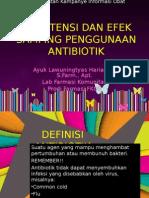 Resistensi Dan Efek Samping Penggunaan Antibiotik