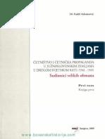Četništvo i Četnička Propaganda u Južnoslovenskim Zemljama I Dio