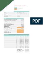DCF Calculator - V2.0