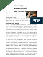 Ponencia_Aprender de los errores en la evaluación de los alumnos_Dr. Satrunino de la Torre_2005_Buenos Aires