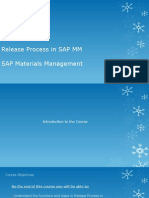 Release Process in SAP MM