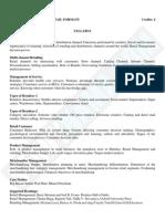Retailing & Retail Formats