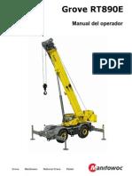 Manual Operador Grua Grove Rt890e4