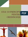 10 Principii Pentru Noii Crestini