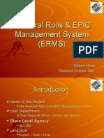 Electoral Rolls & EPIC Management System