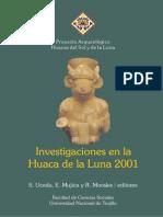 Los Moche Investigacioenes en La Huaca de La Luna