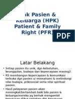 Hak Pasien Keluarga