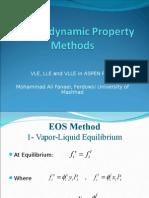 Thermodynamic Property Methods