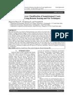 Land Use / Land Cover Classification of kanniykumari Coast, Tamilnadu, India. Using Remote Sensing and Gis Techniques