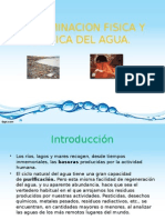 Contaminacion Fisica y Quimica Del Agua