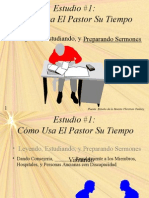 _Spanish_Pastor's Time Usage With Self Evaluation 6_2003