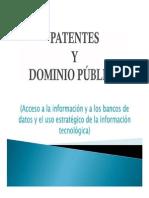 3 - Patentes y Dominio Público