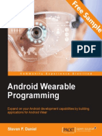 Android Wearable Programming - Sample Chapter