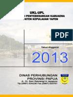 Laporan Pelabuhan Penyeberangan Kabuaena Complete