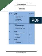 aprojectreportonevaluationoffinancialperformancebasedonratioanalysis-120808223347-phpapp02