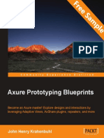 Axure Prototyping Blueprints - Sample Chapter