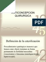 METODO ANTICONCEPCION QUIRURGICOS