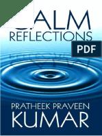 CALM REFLECTIONS - POET - PRATHEEK PRAVEEN KUMAR in PDF