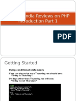 SynapseIndia Reviews on PHP Introduction Part 1