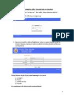 Apply Online UG 2014