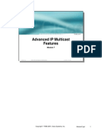 Module7 - Advanced IP Multicast Features