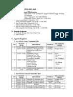 Pelaksanaan Ospek 2015-2016 Stkw Surabaya