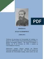 Julian Ochorowicz - Biografia