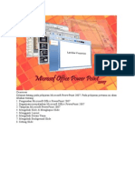 Dasar2 Penggunaan Microsoft Office Power Point