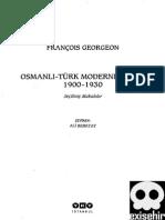 Osmanli-Türk Modernlesmesi 1900-1930  YAPI KREDI YAYINLARI  Francois GeorgeoneXi.PDF