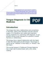 Under the Tongue Diagnosis 2009