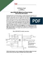 Micro RWD MF Low Power Module