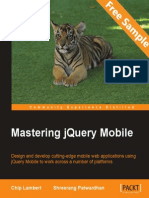 Mastering jQuery Mobile - Sample Chapter