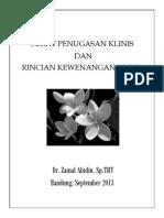 Contoh Surat Penugasan Klinis Dan Rincian Kewenangan Klinis DOKTER