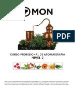 2 Nivel Curso Aromaterapia MON