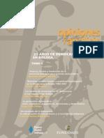 88 25 Años de Democracia en Bolivia Tomo 2